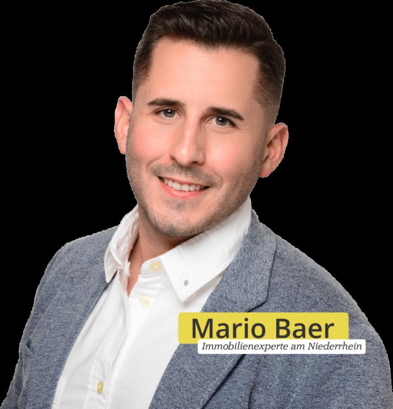 Immobilienmakler Mario Baer